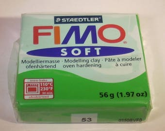 56gr of Fimo Soft green bread tropical No. 53