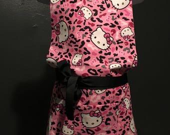 Pink Camo Hello Kitty Apron