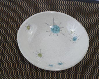 Vintage Franciscan Starburst Coupe  Bowl * Mid Century Dishes * Atomic Age Cereal Bowl