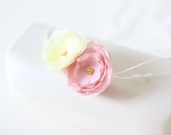 Newborn flower -  Props headband - Baby girl headband - Newborn hair - Newborn baby girl - Props headband - Newborn headband-Flower headband