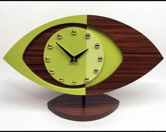 "Mid Century Modern Mod Clock ""727"""