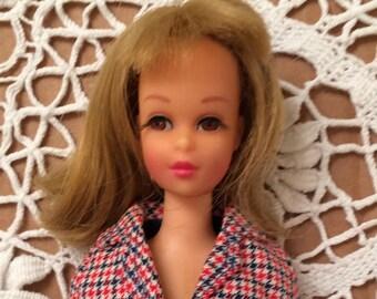 Mattel Francie, Barbie's cousin, 1965, vintage Barbie doll with original outfit