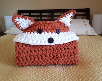 Custom Hooded Fox Blanket - Child Size