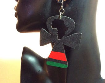 3ins Anhk Earrings