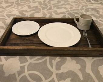 Serving Tray | Coffee Table Tray | Ottoman Tray | Breakfast Tray | Tray  With Handles