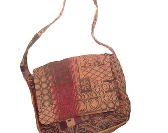 Handmade Crossbody  Boho Messenger Bag