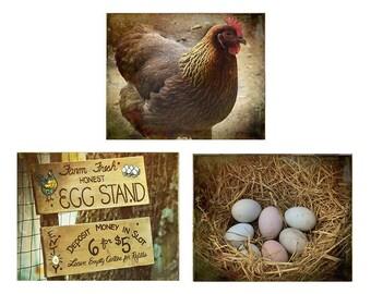 Chicken Kitchen Wall Decor country kitchen art | etsy