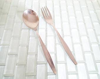Cromargan Spoon Fork - Germany Tablespoon Dinner Fork - 1 spoon - 1 fork