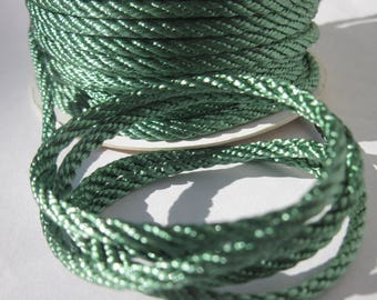 1 meter of cotton yarn braided 3 mm thick (154)
