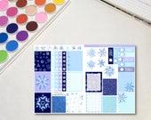 Winter Snowflake B6 Size ...