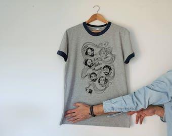Poetes Maudits Retro Unisex Tshirt