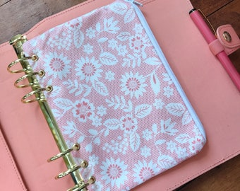 A5 Sized Ring Planner Zipped Pouch - A5 Sized Ring Planner Pencilcase