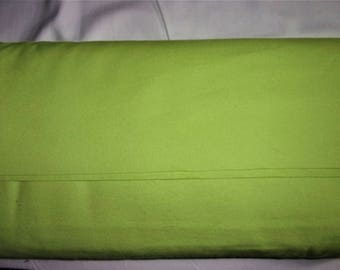 Flannel Fabric, Solid Bright Green 100% Cotton, By the Yard...Quilts, Rag Quilts, Clothing, Crafts
