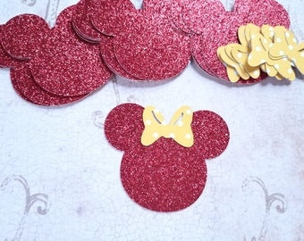 Large Minnie Mouse Heads and Bows   #BUG-35
