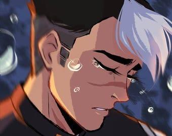 Print: Space Tears (Shiro)