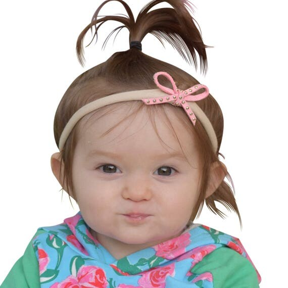 Pink Bow, Baby Headband, Toddler Headband, Hair Bows, Bow Headbands, Pink Headband, Bow Headband Pink, Baby Girl Headband, Bow Headband