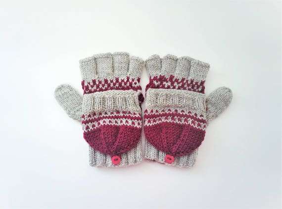 KNITTING PATTERN: Fairy Tale Convertible Gloves