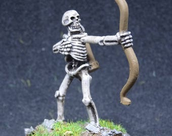Skeletal Archer, Undead Sharpshooter for Dungeon and Dragons. Hand Painted Miniature from Reaper Miniatures