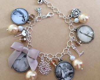 Custom Charm Bracelet for Christine - Handmade, Unique