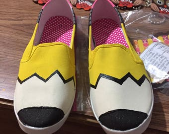 Personalized Pencil Shoes