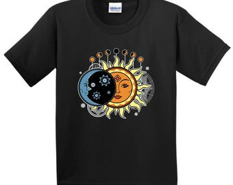Solar Eclipse Event 8-21-17 Youth T-Shirt - 2000B - WSC-502