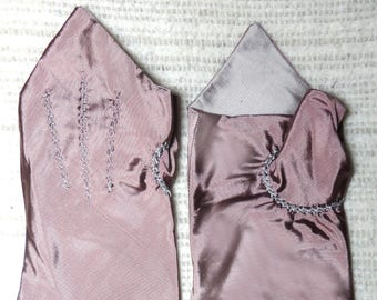 18th Century Size _9_Ladies Colonial Silk Mitts  #9.0.5