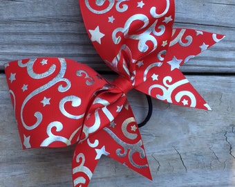 Swirly Swirles designs on ribbon. Available in many colors.