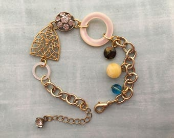 Art Deco Bracelet, 1930's Bracelet,  Repurposed Jewellery
