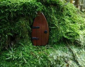 Rustic Wooden Fairy Door