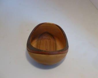 Bowl, Live edge, Wood Bowl