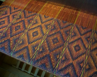 "Handwoven Shawl Scarf Wrap Stole 20""x 78"" hand woven Tencel"