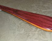 Purpleheart & Bamboo Miss Rose Paddles Spanking Paddle BOE BDSM Taffy Paddle PH298