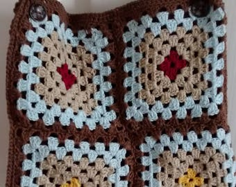 Hand Crochet Granny bag