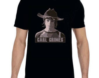 T-Shirt, Walking Dead, Carl Grimes, Fan Art