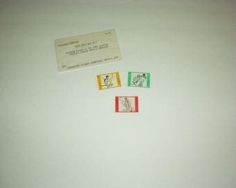 1980 MNH Set of 3 Summer OLYMPIC Games in Moscow STAMPS inside Company Kenmore Sleeve (Rwanda)  #966-68 Mint