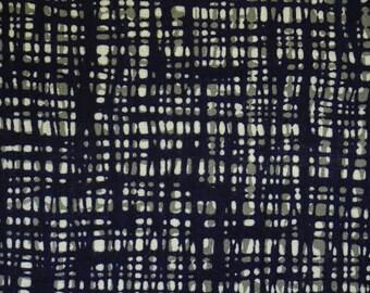 Indigo Betsuzome Vintage Japanese cotton kimono fabric
