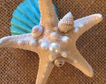 XoBouquets five  seashell boutonniere