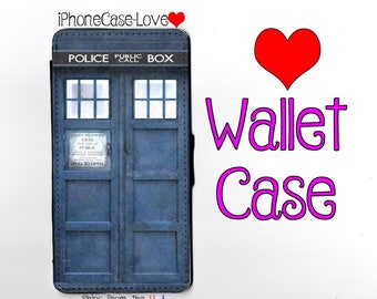 iPhone 6 Case - iPhone 6 Wallet Case - Tardis iphone 6 Case - Tardis iPhone 6 Wallet Case -Doctor Who iphone 6 case - Doctor Who iphone case