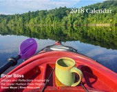 River Bliss 2018 Calendar