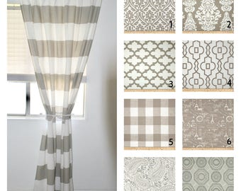Curtains, Designer Curtain Panels 24W Or 50W X 63, 84, 90, 96
