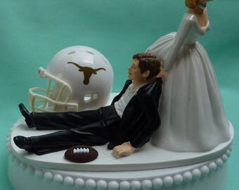 wedding cake toppers in houston tx wedding cake topper dallas cowboys football themed sports turf 26508