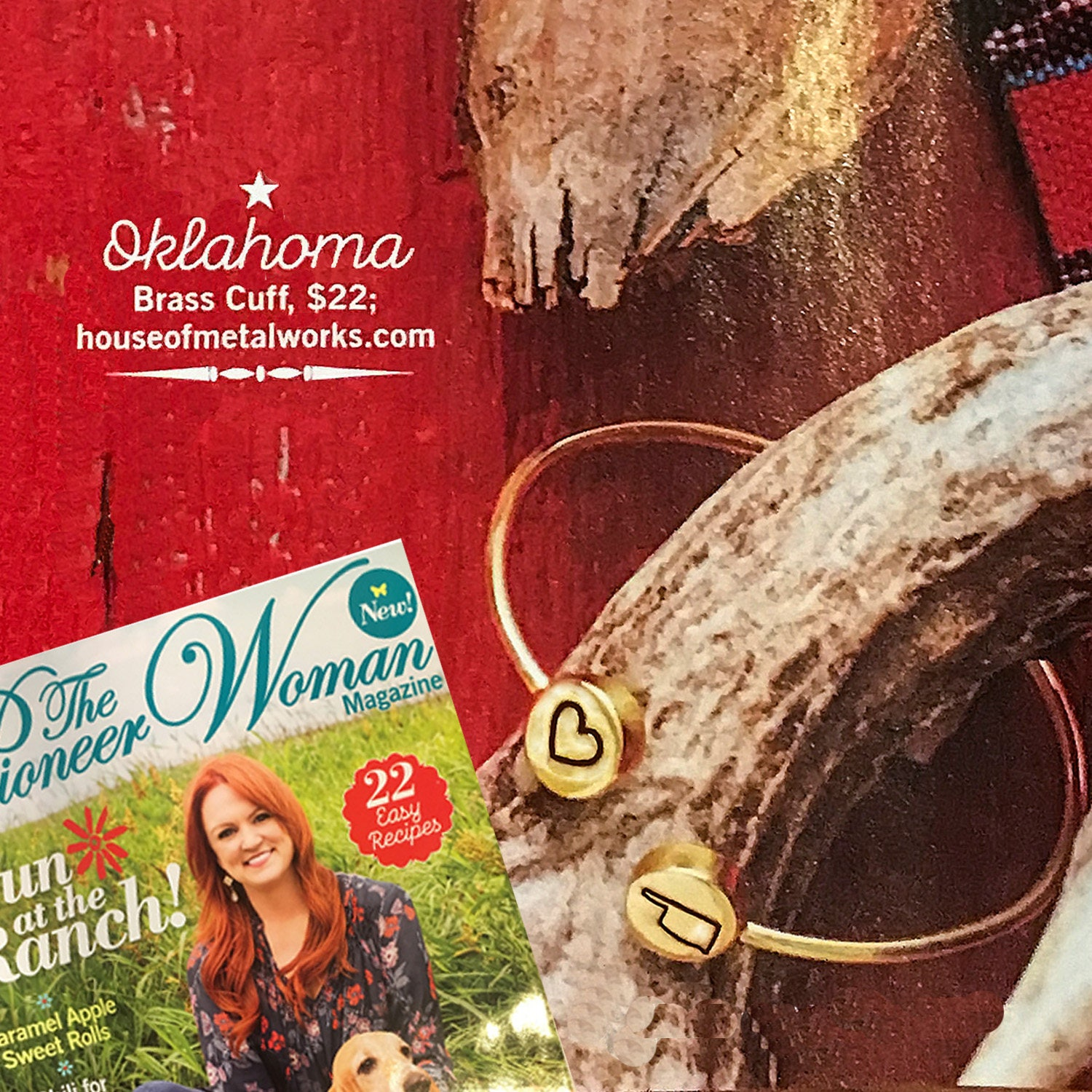 As seen in pioneer woman magazine personalized i love my for Where to buy pioneer woman magazine
