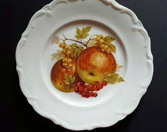 Darling Western Germany Winterling Fruit Pattern Desert Plate