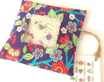 I Spy Bag - Purple Owls