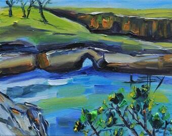 California Art, Beach Painting, Big sur, Carmel Valley, Carmel, Point Lobos, China Cove, Painting, Landscape Painting, Palette Knife Art
