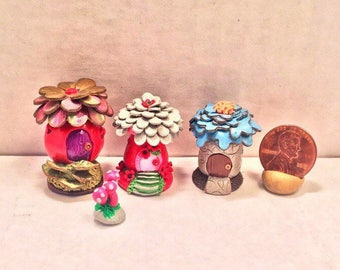 Mini Fairy Hut Collection (Fruit)