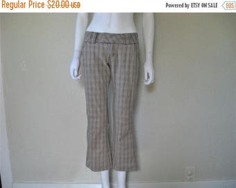 ON SALE plaid pants
