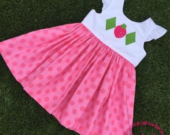 Strawberry shortcake inspired dress