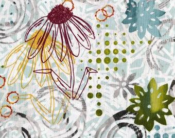 RJR Urban Artifacts Leslie Tucker Jenison Vertical Garden Skylight  Floral Fabric 3063-001 BTY 1 Yd