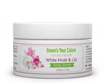 White Musk & Lily Body Butter